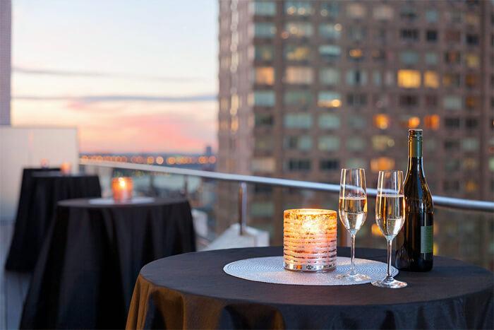 Rooftop bar Hotel Edison