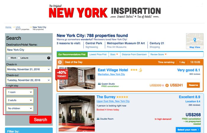 New York Family Hotel