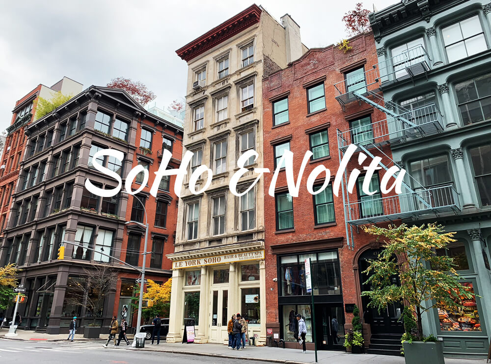 SoHo & Nolita - New York Inspiration - the best hotels in
