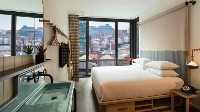 Moxy Kind bed